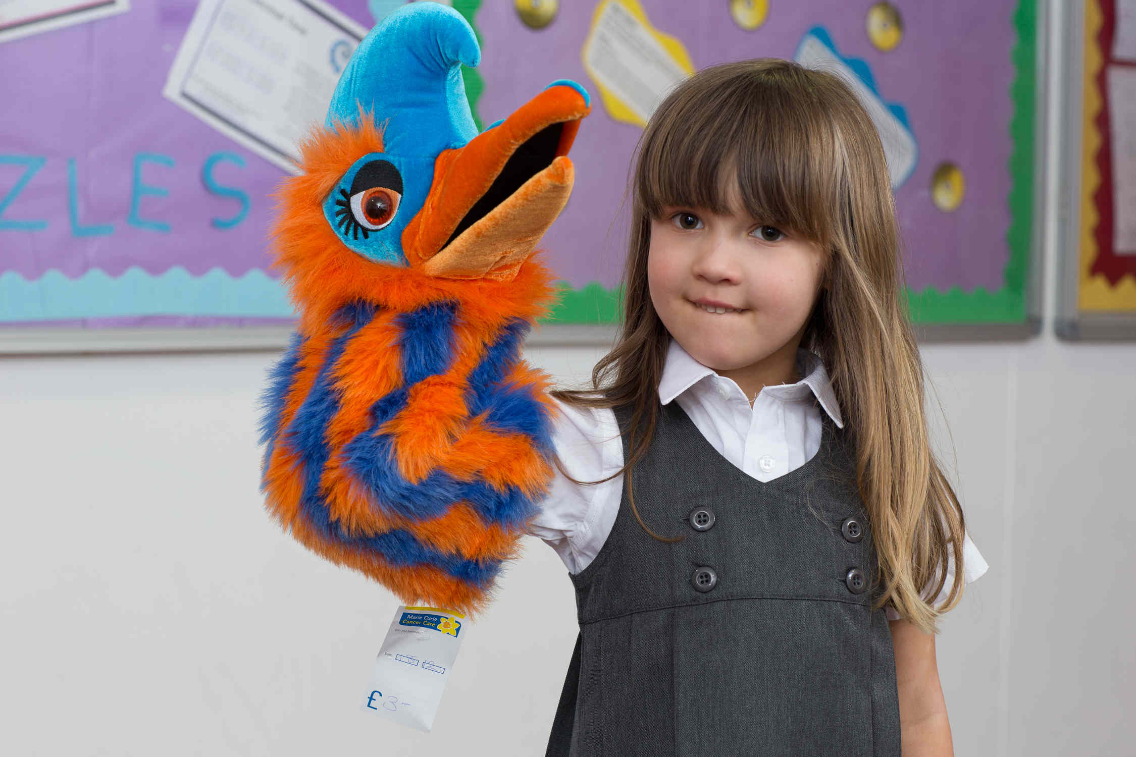 Developing a story with puppets