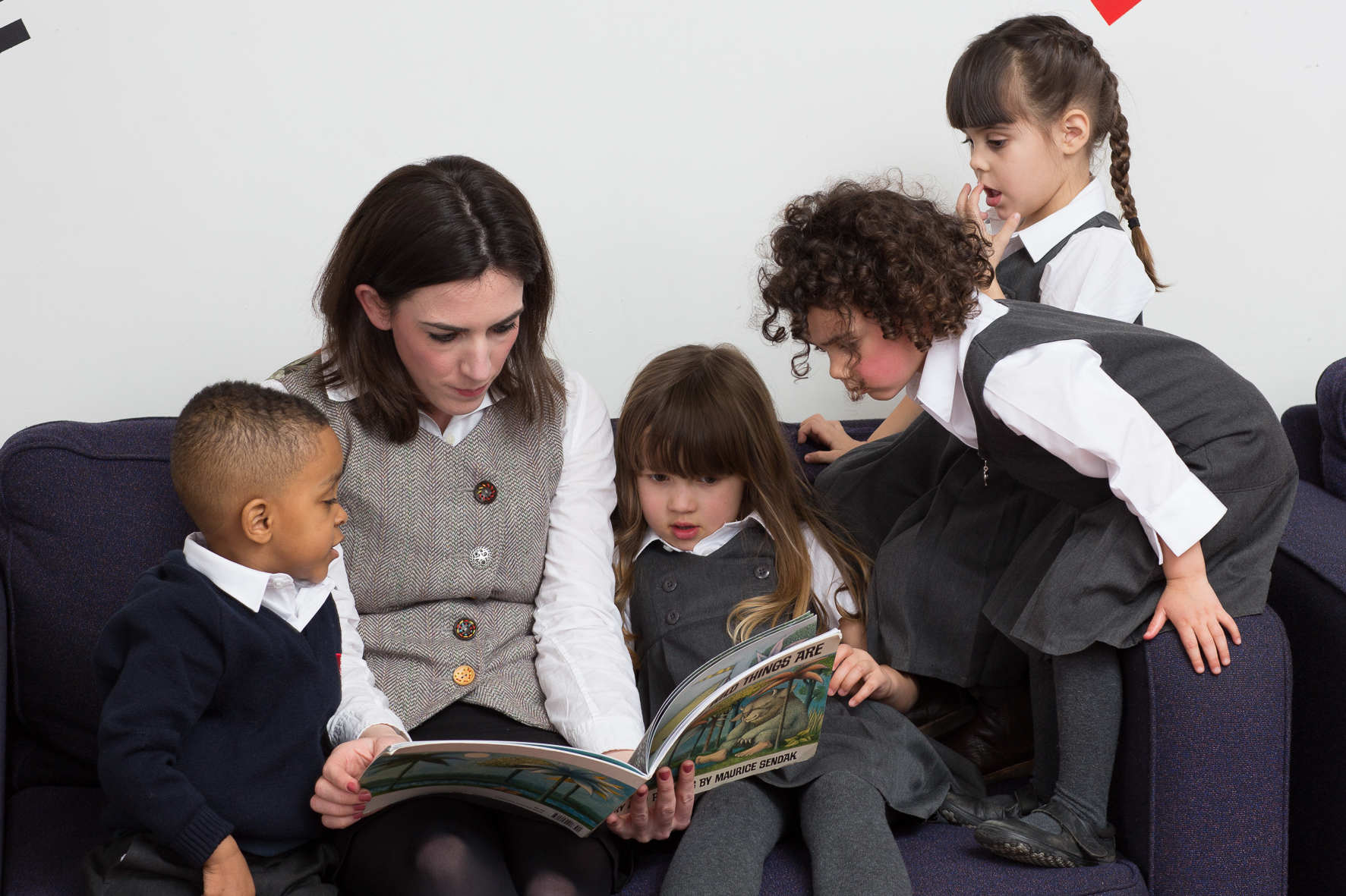 Story time for Reception class